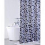 Штора  д/в комнаты IDDIS Flower Lace grey 200*200см 410Р20RI11