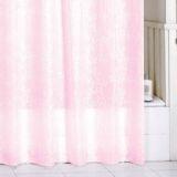 Штора д/в комнаты MIL,180*200см. полисэстер ,SCMI085P ,pink leaf