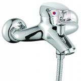 VEGA   Смеситель д/ванны  40мм (арт.01-2079) переключатель на корпусе , большой корус волна
