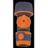 Быстросъемная муфта-коннектор с шар. краном 1/2 SVK (YM5003E)