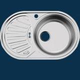 UKinoX  FAP 770.480- GW8K  W770  Мойка нержав. лев. овал. б/с/п