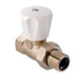 VALTEK Вентиль(клапан компактный )прямой для радиатора  3/4  VT.008 LN.05  (6/48)