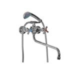 MIXLINE ML09-02 смеситель для ванны и  умывальника 1/2 кер.