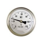 Термометр биметаллический ТВ63-1 (0-160) L50
